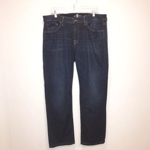 7 For all Mankind Men's Carsen Jeans Size 34x34